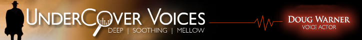 Logo, UnderCover Voices - Voice Actor